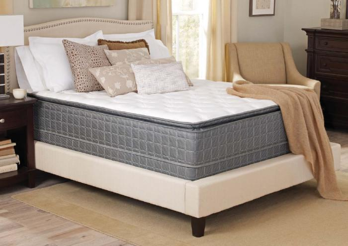 Corsicana - Allenton - Pillow Top Mattress - Twin Mattress Only,Corsicana Bedding Inc