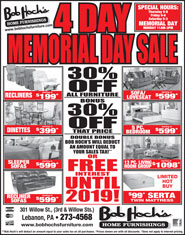 Pre-Memorial Day Sale