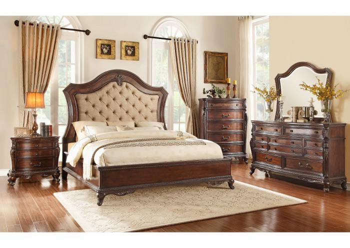 Bonaventure King Bedroom Set,TITUM
