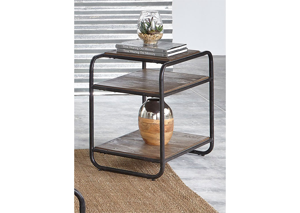 Loft House Chairside Table,LIBUM