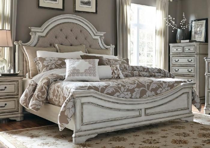Magnolia Manor King Bed,LIBUM