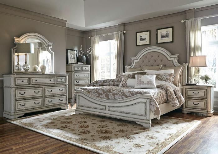 Magnolia Manor King Bedroom Set,LIBUM