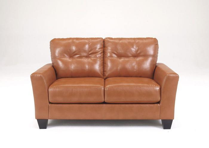 Paulie Orange Loveseat,ASHUM