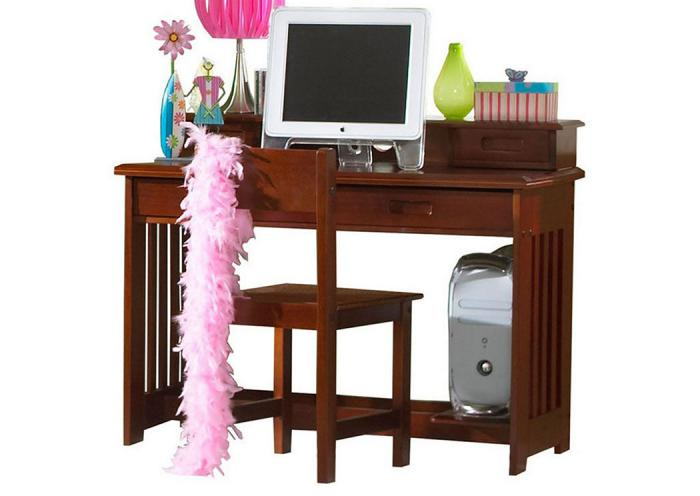 Merlot Student Desk 3PC Set,DWFUM