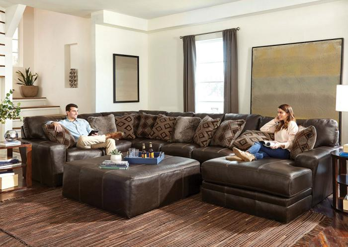 Denali Leather Sectional,CATUM
