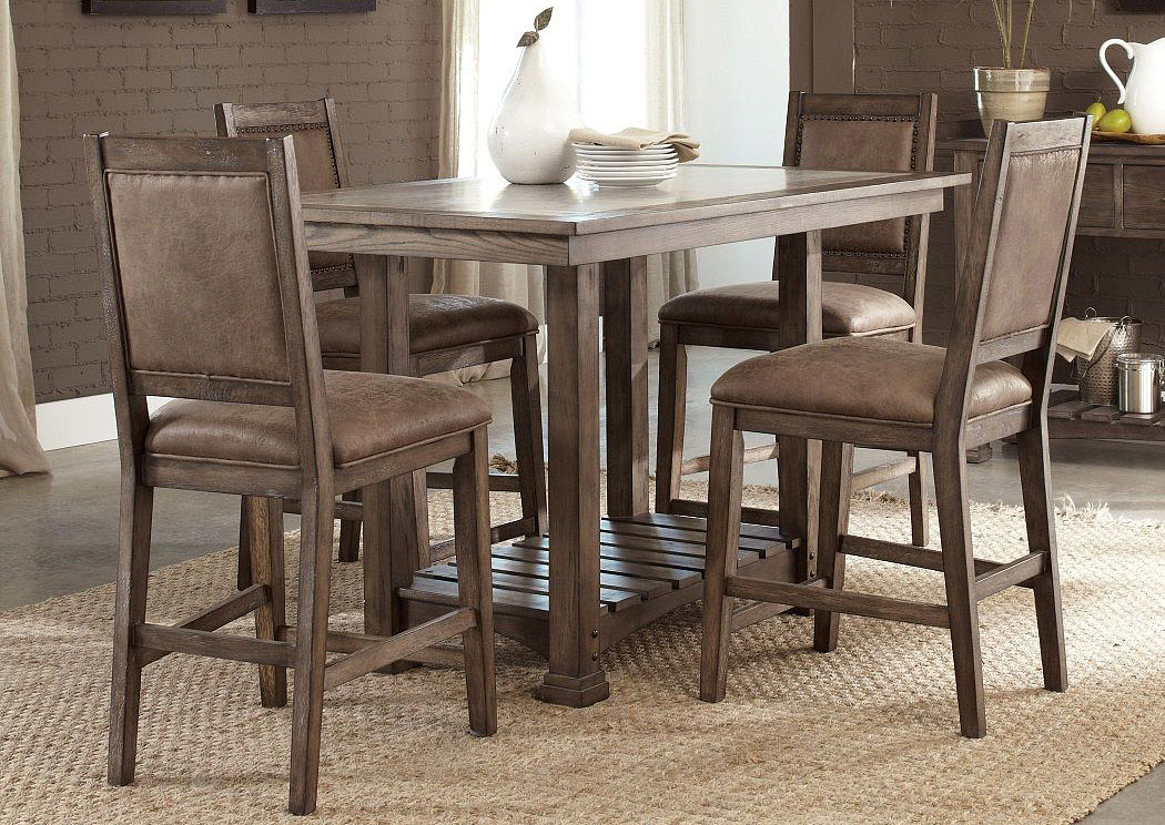 Stone Brook Island Dining Set,LIBUM