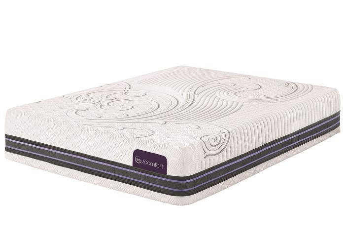 iComfort F500 Plush Queen Mattress,SERUM