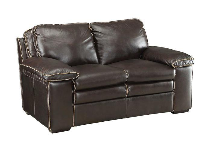 Regalvale Leather Loveseat,COAUM