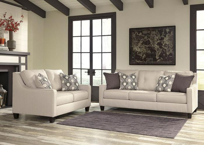 Guillerno Sofa and Love seat,ASHUM