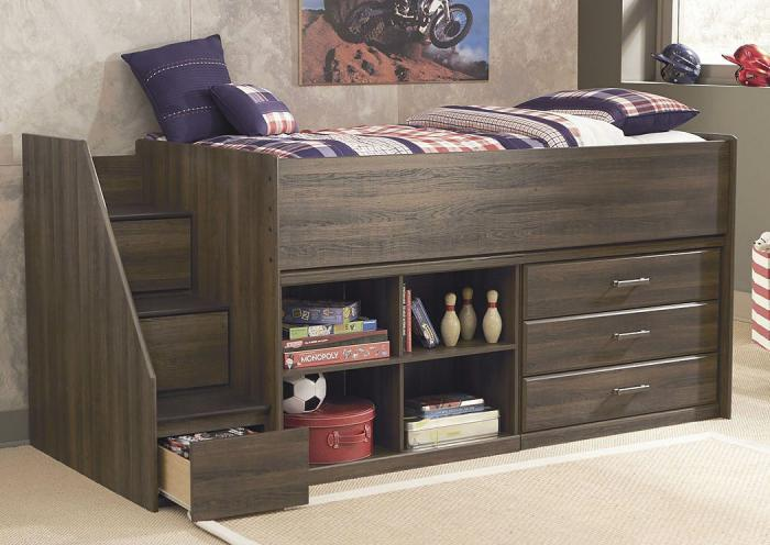 Juararo Loft Storage Twin Bed,ASHUM