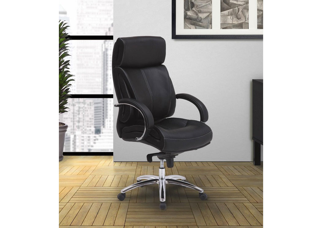 Prestige Ebony Desk Chair,PAHUM