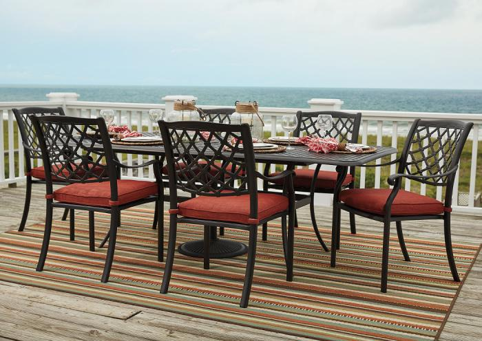 Tanglevale Outdoor Dining Set,ASHUM