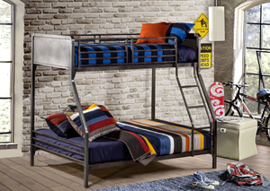 Urban Quarters Twin Over Full Bunkbed