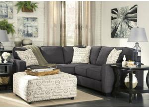 Alenya Charcoal 2-pc Sectional