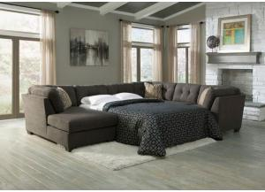 Delta City Steel Sleeper Sectional