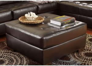 Alliston Chocolate Ottoman