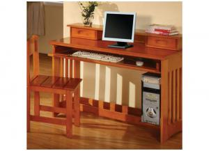 Honey Student Desk 3PC Set