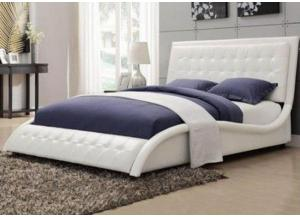 TUFFY WHITE QUEEN BED