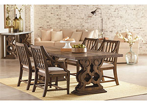 Magnolia Home Shop Floor Dining Set