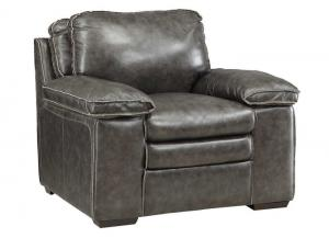 Regalvale Charcoal Leather Chair