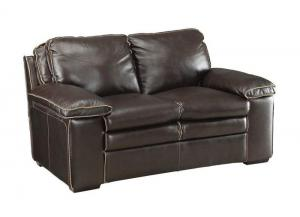 Regalvale Leather Loveseat