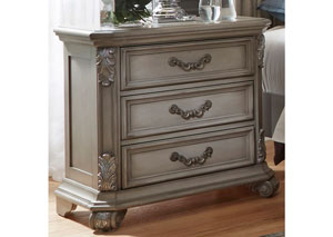 Messina Estates Nightstand,LIBUM