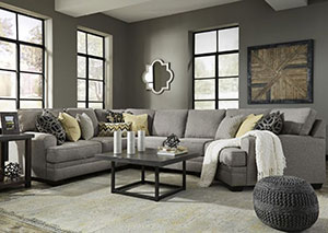 Cresson Pewter Sectional