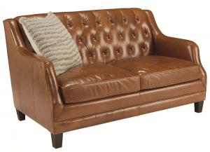 Magnolia Home Gentry Leather Loveseat