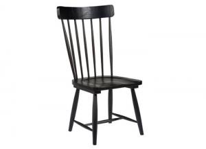 Magnolia Home Farmhouse Black Chair