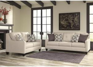 Guillerno Sofa and Love seat