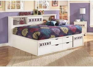 Zayley Full Bookcase Bed,ASHUM