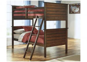 Ladiville Twin Bunkbed