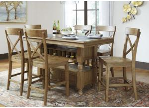 Trishley Dining Set- 7 pc