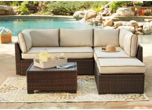 Loughran Sectional & Table
