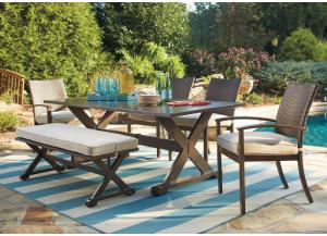 Moresdale Outdoor Dining Set